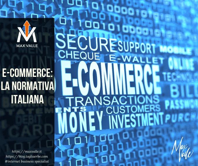 Normativa italiana sugli ecommerce
