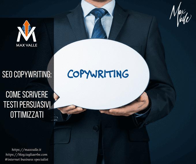 Seo Copywriting: Come scrivere testi persuasivi ottimizzati