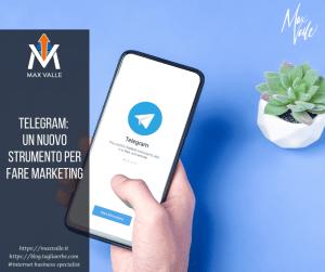 Telegram: un nuovo strumento per fare marketing
