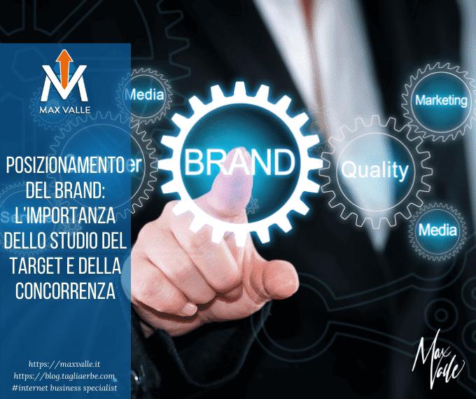 Posizionamento del brand: l'importanza dello studio del target e della concorrenza