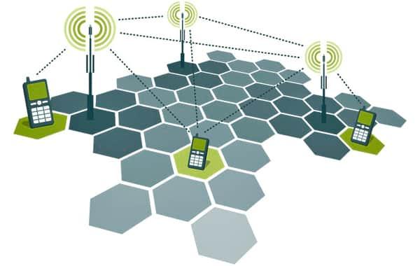 schema rete cellulare